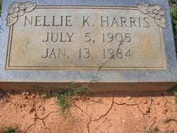 Nellie Kate <I>Sanders</I> Harris