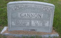 Ida Cannon