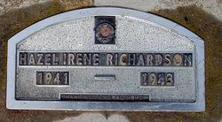 Hazel Irene Richardson