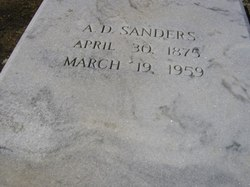 Alfred Daniel Sanders