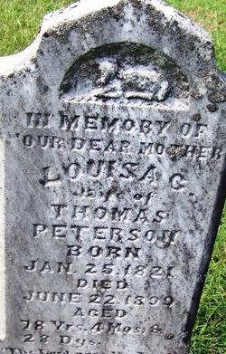 Louisa Coffee <I>Mahan</I> Peterson