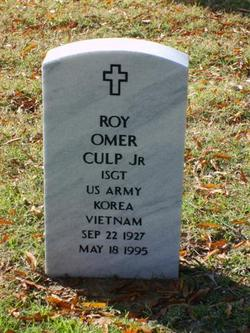 Roy Omer Culp, Jr