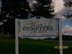 Mars Cemetery