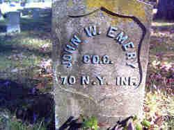 Pvt John W Emery