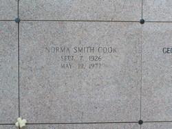 Norma <I>Smith</I> Cook