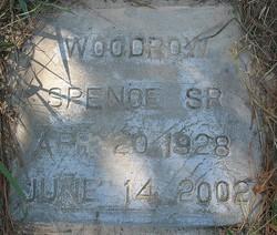 "Woodrow ""Woody"" Spence, Sr"