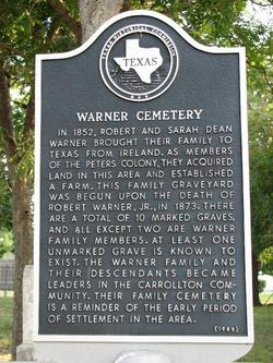 Warner Cemetery in Carrollton, Texas - Find A Grave Cemetery