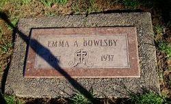 Emma A Bowlsby