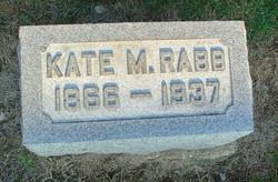 Kate <I>Milner</I> Rabb