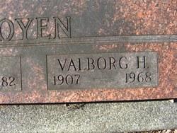 Valborg H. <I>Ager</I> Oyen