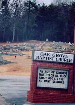 Oak Grove Baptist Church Cemetery