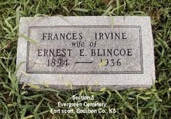 Frances <I>Irvine</I> Blincoe