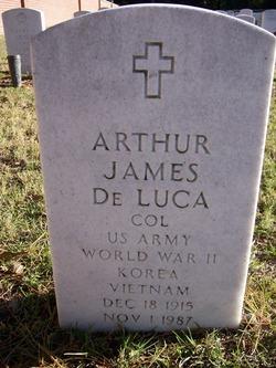 Col Arthur James De Luca