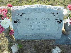Minnie Marie Gartman