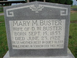 Mary Mildred <I>Caviness</I> Buster