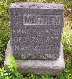 Emma <I>Langenbacher</I> Kusreau
