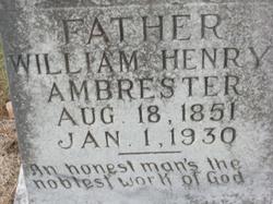 William Henry Ambrester