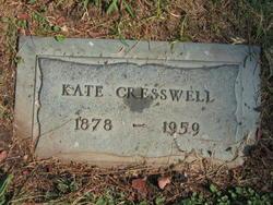 Kate Olive <I>Potter</I> Cresswell