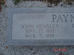John Hensley Payne