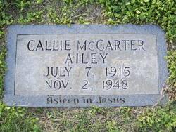 Callie Leona <I>McCarter</I> Ailey