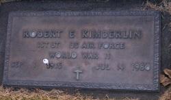 Lieut Robert E Kimberlin