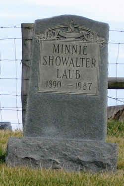 Minnie <I>Showalter</I> Laub