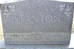 Emma V Stanton