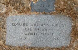 Corp Edward Williams Hudson