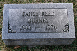 Pansy Reed Burney