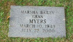 Marsha <I>Bailey</I> Myers