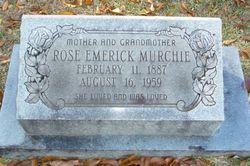 Rose <I>Emerick</I> Murchie
