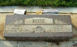 Shirley A. Rose