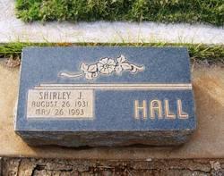 Shirley Jane <I>Ayers</I> Hall