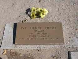 PFC Ivy Henry Pursel