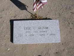 PFC Lyle C. Allum