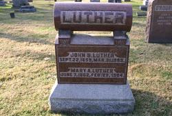 "Mary A. ""Mollie"" <I>Spaugh</I> Luther"