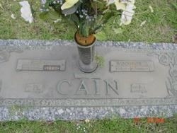 Hilda Lavenia <I>Phillips</I> Cain