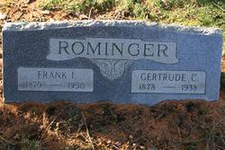 Gertrude <I>Chandler</I> Rominger