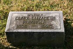 Clara Elizabeth <I>Ricksecker</I> Rominger