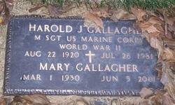 Mary Healon <I>Fuller</I> Gallagher