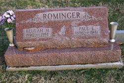 Beulah May <I>McCullough</I> Rominger