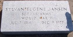 Sgt Sylvan Eugene Jansen