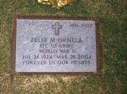 PFC Felix M Ornela