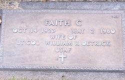 Faith C Detrick
