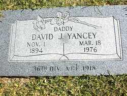 David Johnson Yancey