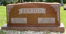 "Frances Ardelle ""Scoot"" <I>Callison</I> Benson"
