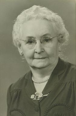Annie James <I>Hamilton</I> Camber
