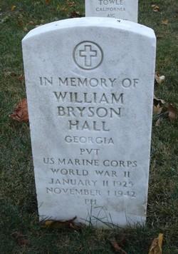Pvt William Bryson Hall