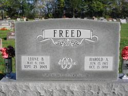 Harold Arnold Freed