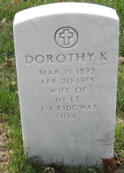 Dorothy K Ridgway